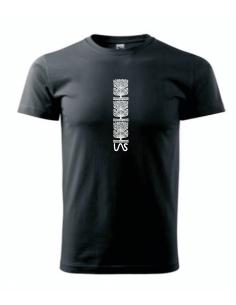 Koszulka Las wycinanki trzy